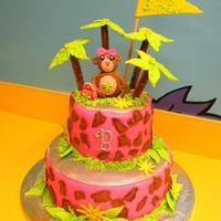 Brinkley's Monkey Jo Cake