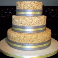 Krispy Treat Grooms Cake
