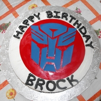 Transformer Cake Boys 5 year old birthday cake