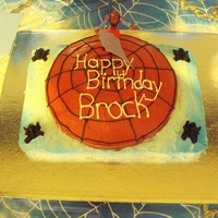 Spider Man Boys 4 year old Birthday cake
