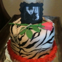 I Love Justin Bieber! Cake This is another cake I made for my son's school auction. I forgot to ask what it sold for but plan to after thanksgiving break. It is...