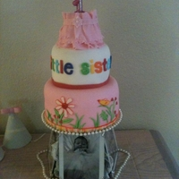 Lucy's 1St Birthday! My only daughter just turned 1 on July 22nd. i made her this cake. The top layer is a tutu patterned after the tutu she wore on the day she...
