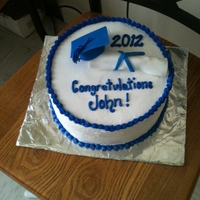High School Graduation basic graduation cake