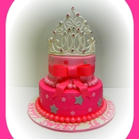 Sweet 16....crown Cake