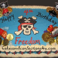 Pirates Treasure Hunt Cake Pirates Treasure Hunt Cake