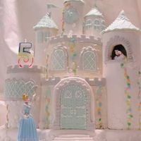 Sophia's Cinderella Castle Cake I posted this cake once before, but I wanted to add some information, I had to delete it and post again. Apologies to those who had saved...