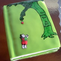 The Giving Tree Vanilla cake with vanilla buttercream covered in fondant
