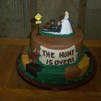 Deer Hunter   Buttercream with plastic accessories