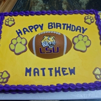 Lsu Birthday   candy paw prints