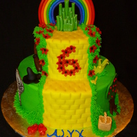 Buttercream With Mmf Decorations   Buttercream with MMF decorations