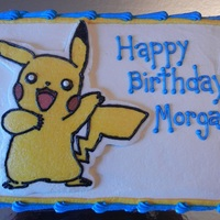 Pikachu Birthday Cake Pikachu Birthday Cake