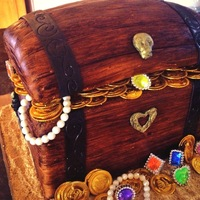 30Th Wedding Anniversary Pirate Treasure Chest Viola, this is the final result of the pirate treasure chest cake I made for my in-laws for their 30th Wedding Anniversary party; it was a...