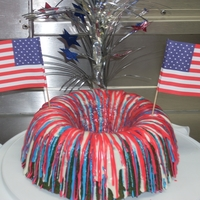 Veteran's Day Used the same idea as my Halloween cake but changed up the colors. Took this into work for Veteran's Day. Thank you to all our Veteran...