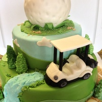 All Fondant Golf Theme Cakes Was Inspired By All The Awesome Golf Cakes Posted Here Tfl All fondant golf theme cakes. Was inspired by all the awesome golf cakes posted here tfl