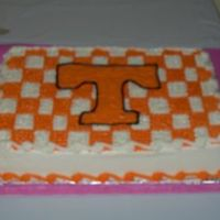 Power T Checkerboard This was actually for a grooms cake for a UT couple. Both attended schoole there, so it was natural. Thanks for looking!!