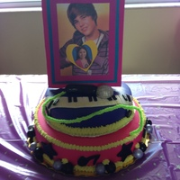 Justin Bieber Birthday Cake Justin Bieber-6 year old's birthday :)