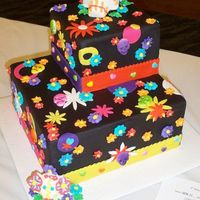 Dia De Los Muertos Cake - Az Cake Show Entry This was my Novelty entry for the AZ Cake and Sugar Arts show this past weekend. I placed 2nd in the Intermediate division with it. It'...
