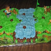 Go Diego Go Cupcake Cake Cupcake cake for my youngest son's third birthday. Inspired by CranberryClo.