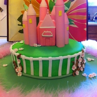 Castle Fun cake, thanks Cake Central for giving me ideas for this cake.