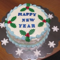 "New Years Eve '14 (12/31/14)  This is 3 layer carrot cake with cream cheese icing. I got the recipe from our forums and it worked FABUOUSLY! ""Carmijok's cream..."