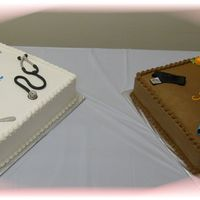 Isaiah_Retirement.jpg Made this cake for my brother-in-law's retirement celebration. Yellow cake and vanilla buttercream icing with a reflex hammer,...
