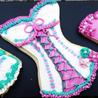 Fushia And Teal Corsettes I Never Tire Of Creating This Corsette Cookie There Is So Much You Can Do With It Fushia and teal corsettes. I never tire of creating this corsette cookie. There is so much you can do with it.