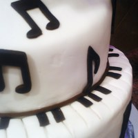 Musical Cake For The Seattle Repertory Jazz Orchestra