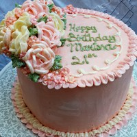 This Is A Mango Cake Filled With Mango Filling It Is Iced In Italian Meringue And All The Flowers Are Out Of Italian Meringue I Had Seve This is a mango cake filled with mango filling. It is iced in Italian Meringue and all the flowers are out of Italian Meringue. I had...