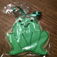 Frog Sugar Cookie   Frog