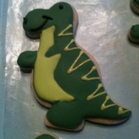 Dinosaur Cookie Dinosaur cookie