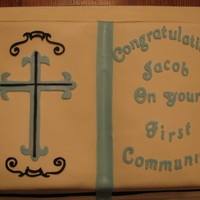 Communion Cake For My Friends Son
