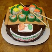 Sushi Cake This is a quick sushi cake I made for my son's birthday. For the last 18 years, we have had sushi for his birthday dinner. Everything...