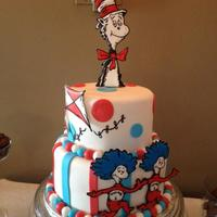 The Cat In The Hat *This was for my cousin's baby shower.