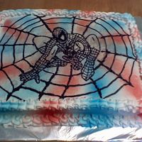 Spiderman Birthday Cake   This was for my son's 5th Birthday.