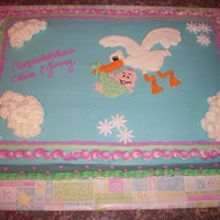 Stork Cake I copied this from someone on this site. I forget who - but thank you!