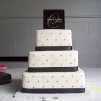 Buttercream Black Fabric Ribbon With Hot Pink Dots Buttercream - black fabric ribbon with hot pink dots
