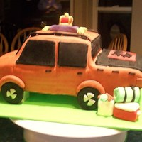 3D Truck   truck is the birthday girls truck, she loves Calgary Flames, Crown Royal, and camping!