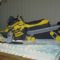 Skidoo this was for my nephews 5th birthday