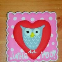 Who Loves You? I found this design on a scrap-booking sticker...this was my favorite valentine cookie! NF with royal.