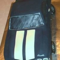 1969 Chevelle With Racing Stripes   fondant with fondant accents