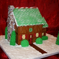 2010 Gingerbread House It's been a family tradition since my children were very small to make a gingerbread house each year at Christmas. When our youngest...