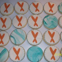 Logo Cookies With Edible Image