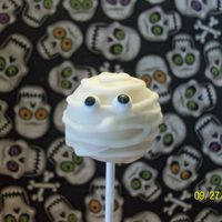 Mummy Cake Pop