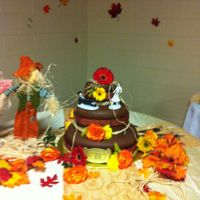 Country Western Wedding Cake