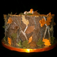 Mossy Oak Camo Baby Shower Cake 1st request for a mossy oak camo cake :). Buttercream w/ fondant accents.