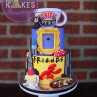 Friends Tv Show Kake I Was So Excited To Make My 3Rd Friends Kake As Its My Favorite Show Cakes Iced In Buttercream Mmf Decorations Ri FRIENDS TV show KAKE!I was so excited to make my 3rd FRIENDS kake as it's my favorite show!Cakes iced in buttercream, MMF decorations...