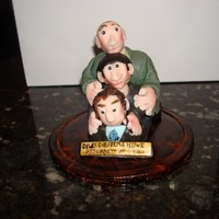 Three Stooges Cake Topper The customer ordered this for her husband's birthday, he loves the Three Stooges!