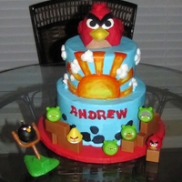 "Angry Birds Inspired by another ""caker's"" creation"