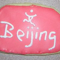 Olympic Cookies - 5 Beijing cookie with mini logo. nfsc and choc sugar cookies with Antonia74 RI. TFL!