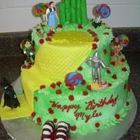 Wizard Of Oz Cake THANKS CC FOR ALL THE INSPIRATION....
